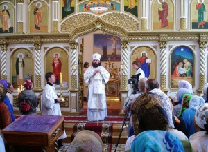 Освящение храма Рождества Христова в г. Сафоново